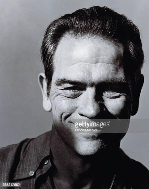 Tommy Lee Jones Smiling
