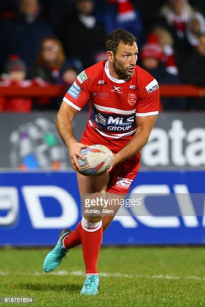 Tommy Lee of Hull KR during the BetFred Super League match between Hull KR and Catalans Dragons at KCOM Craven Park on February 15 2018 in Hull...