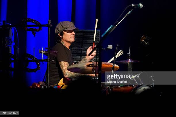 Tommy Lee performs at 3rd annual Acoustic4aCure benefit concert at The Fillmore on May 15 2016 in San Francisco California