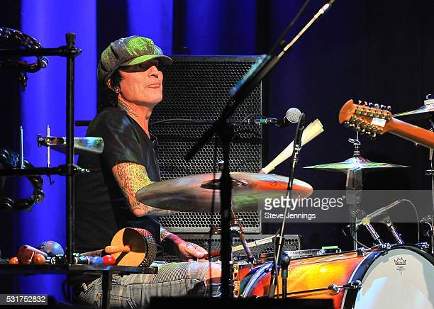 Tommy Lee performs at the 3rd Annual Acoustic4ACure concert a Benefit for the Pediatric Cancer Program at UCSF Benioff Children's Hospital at The...