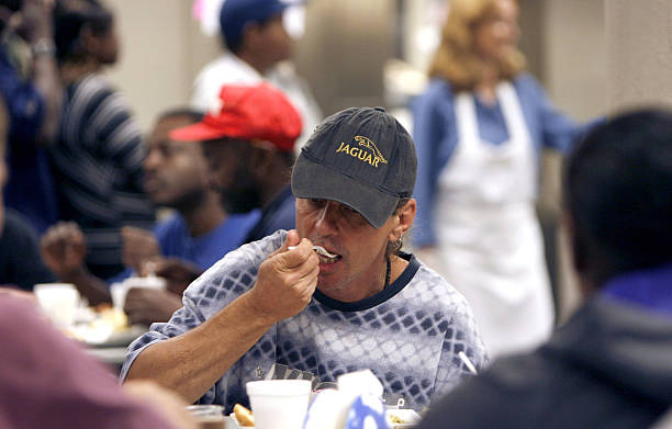 Tommy Lemieux Enjoys His Meal At The Shepherd S Table Soup