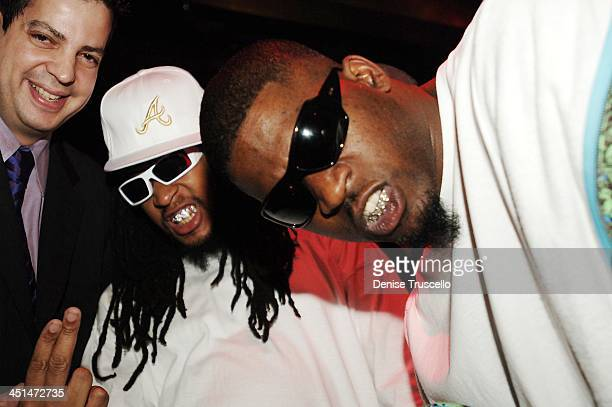 Tommy Lipnick Lil Jon and David Banner during Maxim 100th Issue Weekend Party Inside at Wynn Las Vegas Club Tryst in Las Vegas Nevada