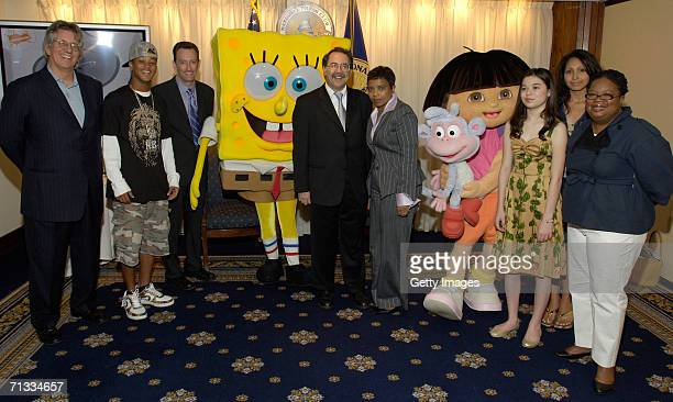 Tommy Lynch creator of the Romeo television show Romeo Tom Kenny the voice of Sponge Bob Squarepants Sponge Bob Squarepants John Hughes of Bloomberg...