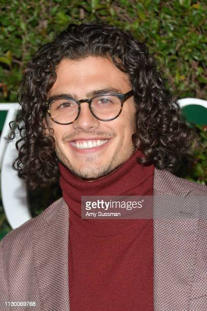 Tommy Martinez attends Teen Vogue's 2019 Young Hollywood Party Presented By Snap at Los Angeles Theatre on February 15 2019 in Los Angeles California