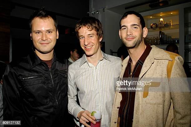 Tommy McCall Peter Maitland and Brian Cummings attend GENRE MAGAZINE Presents Patrick McMullan's Book KISS KISS Signing Party at BoConcept on...