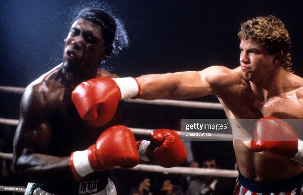 Tommy Morrison In 'Rocky V' : News Photo