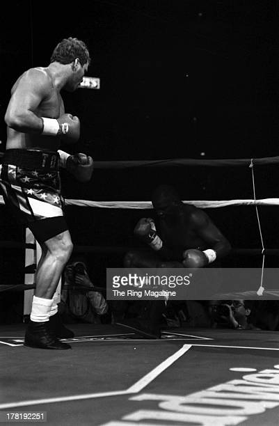 Tommy Morrison knocks out Marshall Tillman at America West Arena in Phoenix Arizona