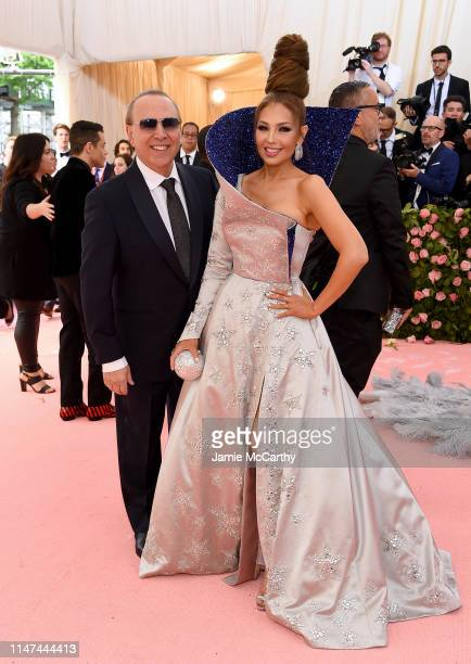 Tommy Mottola and Thalía attend The 2019 Met Gala Celebrating Camp Notes on Fashion at Metropolitan Museum of Art on May 06 2019 in New York City
