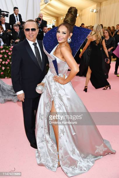Tommy Mottola and Thalia attend The 2019 Met Gala Celebrating Camp Notes on Fashion at Metropolitan Museum of Art on May 06 2019 in New York City