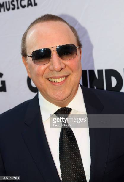 Tommy Mottola poses at the opening night of the new musical based on the film Groundhog Day on Broadway at The August Wilson Theatre on April 17 2017...