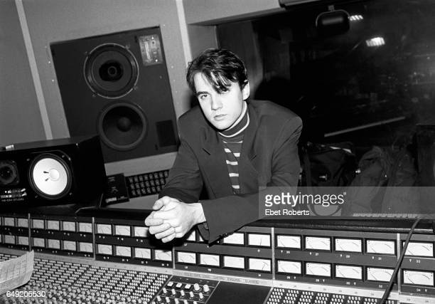Tommy Page at Mission Control studio in Westford Massachusetts on January 14 1991