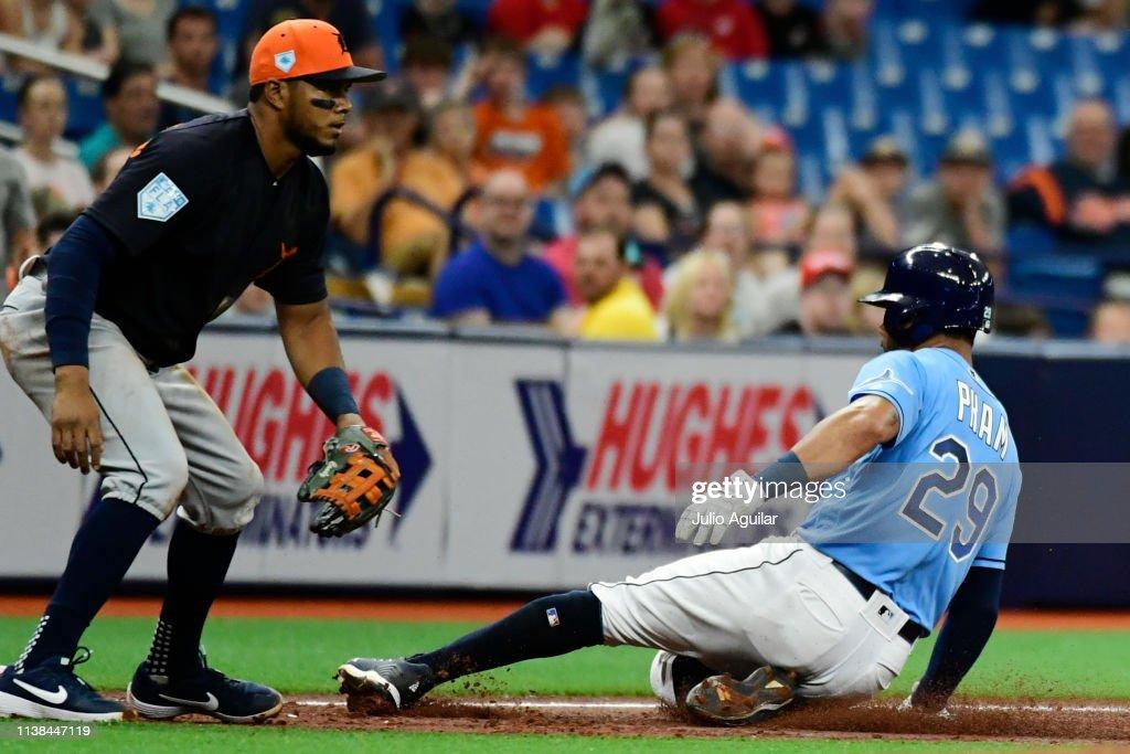 FL: Detroit Tigers v Tampa Bay Rays