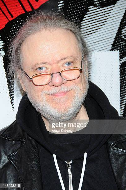 Tommy Ramone signs copies of the newly released Commando The Autobiography of Johnny Ramone at Amoeba Music on April 26 2012 in Hollywood California