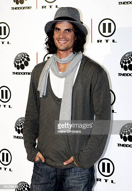 Tommy Reeve arrives before The Dome 43 music show at the Color Line Arena on August 31 2007 in Hamburg Germany