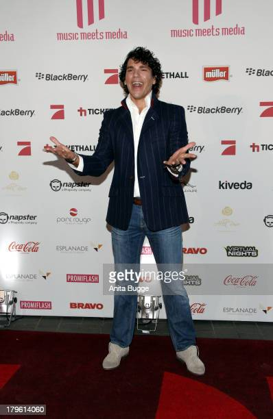 Tommy Reeve attends the Music Meets Media 2013 Award at Grand Hotel Esplanade on September 5, 2013 in Berlin, Germany.