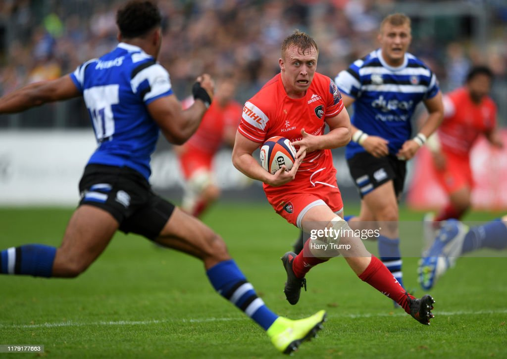 Bath v Leicester Tigers - Premiership Rugby Cup : News Photo