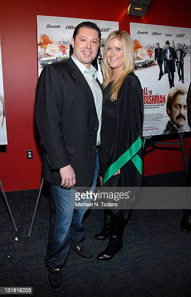Tommy Reid and Dawn Reid attend the premiere of 'Kill the Irishman' at Landmark's Sunshine Cinema on March 7 2011 in New York City