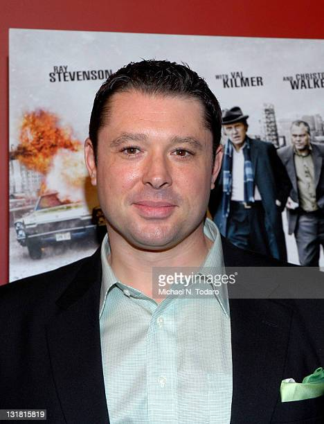 Tommy Reid attends the premiere of 'Kill the Irishman' at Landmark's Sunshine Cinema on March 7 2011 in New York City