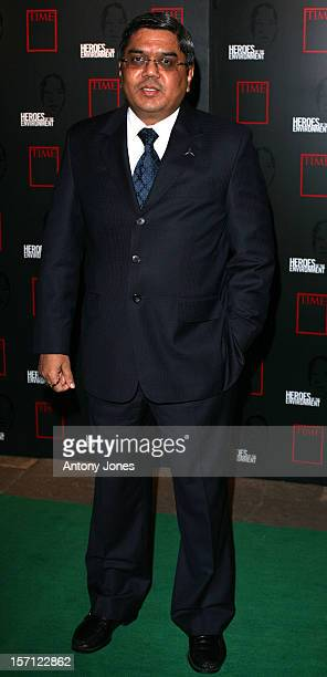 Tommy Remengesau Attends The Time Magazine'S Heroes Ceremony Honouring Those Who Have Made A Contribution To The Planet'S WellBeing At The Royal...