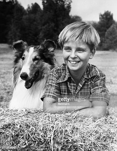 Tommy Rettig with Lassie Filed 6/14/57