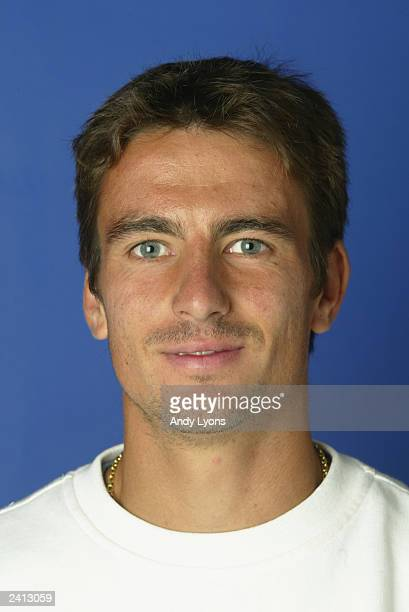 Tommy Robredo of Spain poses for a portrait during the Western and Southern Financial Group Masters at the Linder Family Tennis Center on August 11,...