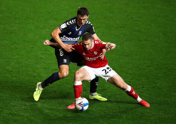 GBR: Bristol City v Middlesbrough - Sky Bet Championship