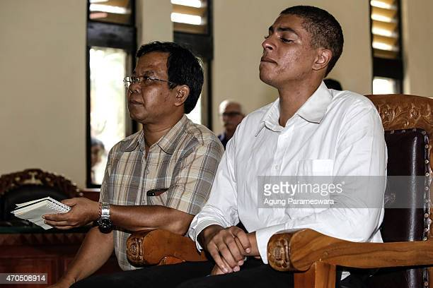 Tommy Schaefer of the United States cries during his verdict hearing on April 21, 2015 in Denpasar, Bali, Indonesia. An Indonesian judge has...