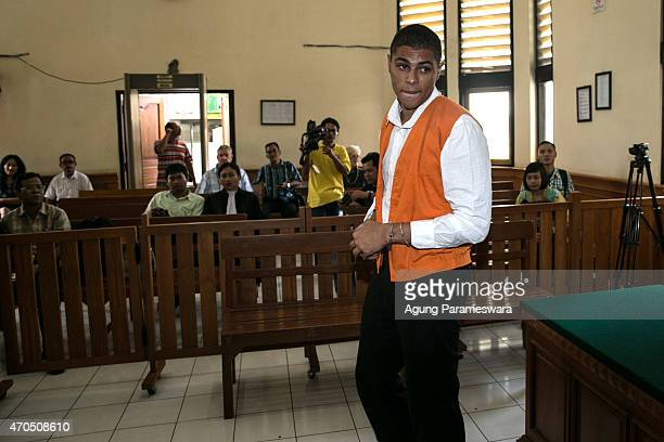 Tommy Schaefer of the United States stands on trial ahead of his verdict on April 21, 2015 in Denpasar, Bali, Indonesia. An Indonesian judge has...