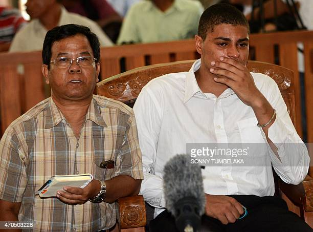 Tommy Schaefer of the US sits in the court room to hear the verdict in his murder trial in Denpasar on Indonesia's resort island of Bali on April 21,...