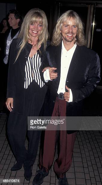 Tommy Shaw of Styx and wife attend American Cinema Awards Honoring Richard Dreyfuss on November 2 1996 at the Bonaventure Hotel in Los Angeles...
