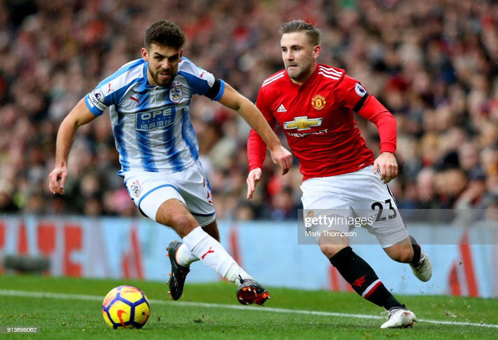 Manchester United v Huddersfield Town - Premier League : News Photo