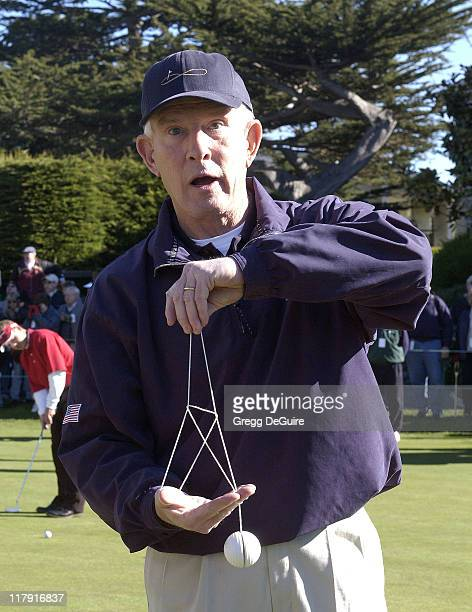 Tommy Smothers during 3M Celebrity Challenge at the AT&T Pebble Beach National Pro-Am at Pebble Beach Golf Links in Carmel, California, United States.