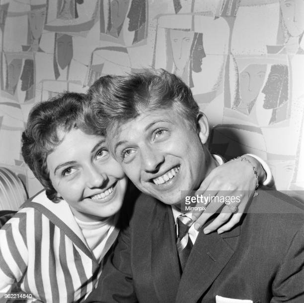 Tommy Steele and fiancee Ann Donoghue 15th August 1958