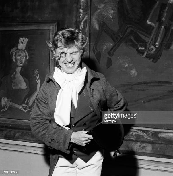Tommy Steele as Tony Lumpkin in 'She Stoops to Conquer' at the Old Vic, 2nd November 1960.