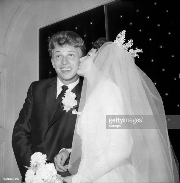 Tommy Steele marries Ann Donoghue at St Patrick's Church Soho Square London 18th June 1960