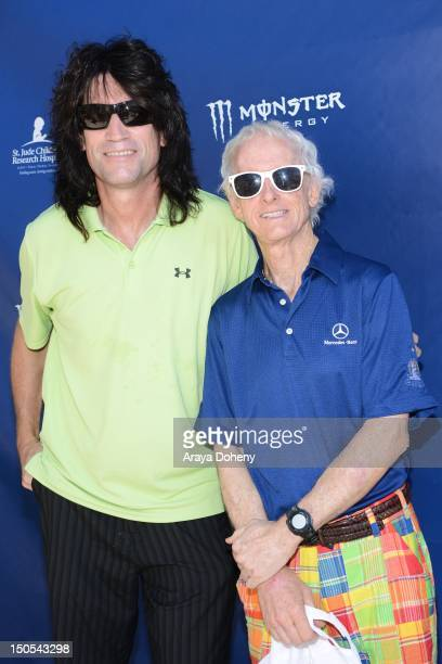 Tommy Thayer and Robby Krieger attend the Robby Krieger Celebrity Golf Classic AllStar Concert benefiting St Jude's Children's Research Hospital on...