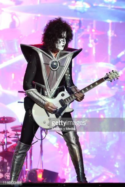 Tommy Thayer of KISS performs on stage performs on stage during the Domination Festival 2019 at Foro Sol on May 3 2019 in Mexico City Mexico