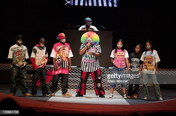 Tommy the Clown and his Krumping Crew during Macy's 2006 Glamorama Dress Rehearsal at The Orpheum Theatre in Minneapolis Minnesota United States