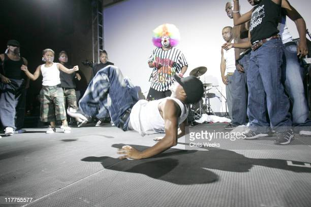 Tommy The Clown during 2005 Stuff Style Awards Inside at Hollywood Roosevelt Hotel in Los Angeles California United States