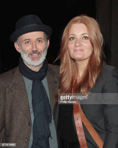Tommy Tiernan and Yvonne McMahon appear on The Late Late Show on November 10 2017 in Dublin Ireland
