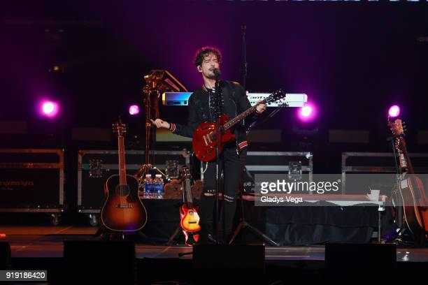 Tommy Torres performs as part of his concert 'Tu y Yo' at Coliseo Jose M Agrelot on February 16 2018 in San Juan Puerto Rico