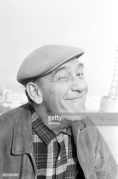 Tommy Trinder Comedian Blackpool Photocall to promote Summer Season of Shows 2nd June 1965