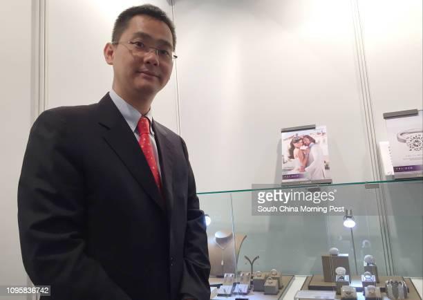 Tommy Tse Tatfung deputy CEO of TSL Jewellery attending a trade fair in Jakarta organised by Trade Development Council 18SEP15 === Photos taken by...