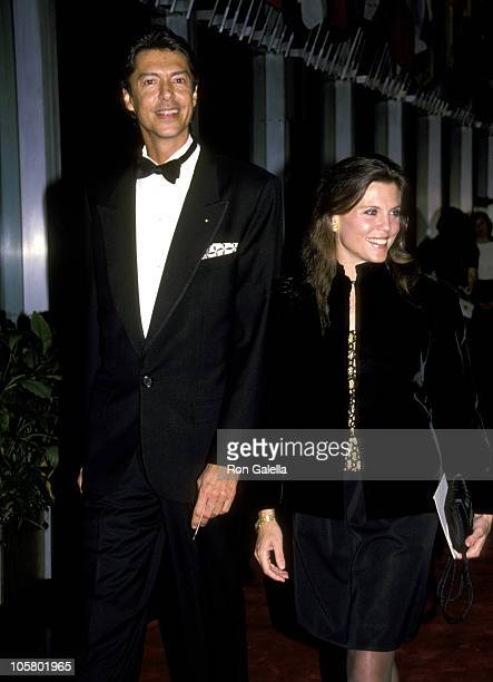 Tommy Tune and Ann Reinking during Kennedy Center Honors Gala December 4 1988 at Kennedy Center in Washington DC Maryland United States
