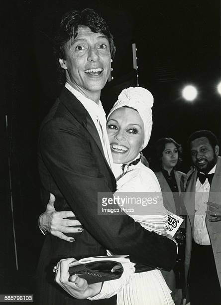 Tommy Tune and Liliane Montevecchi circa 1982 in New York City