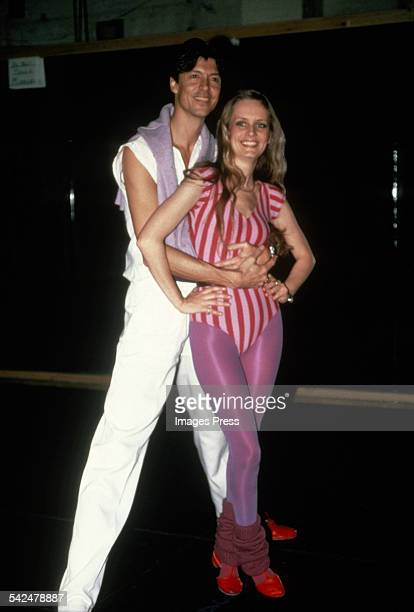 Tommy Tune and Twiggy circa 1980s in New York City