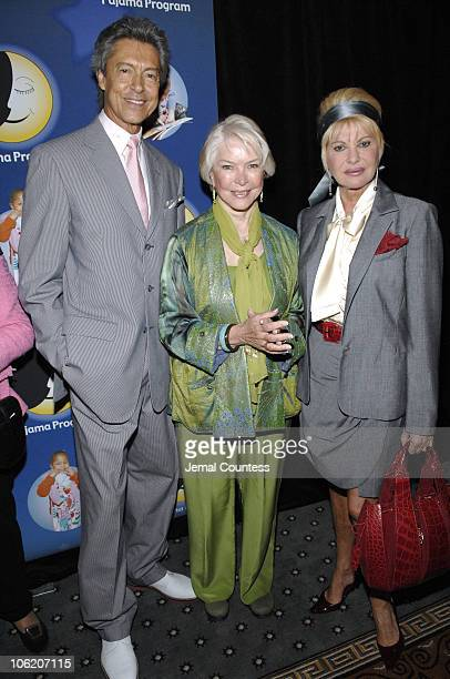 Tommy Tune Ellen Burstyn and Ivana Trump during The Pajama Program 5th Annual Awards Luncheon at The Pierre Hotel Grand Ballroom in New York City New...