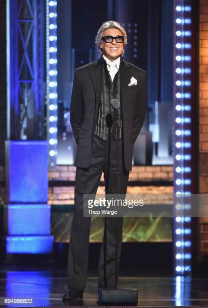 Tommy Tune speaks onstage during the 2017 Tony Awards at Radio City Music Hall on June 11 2017 in New York City