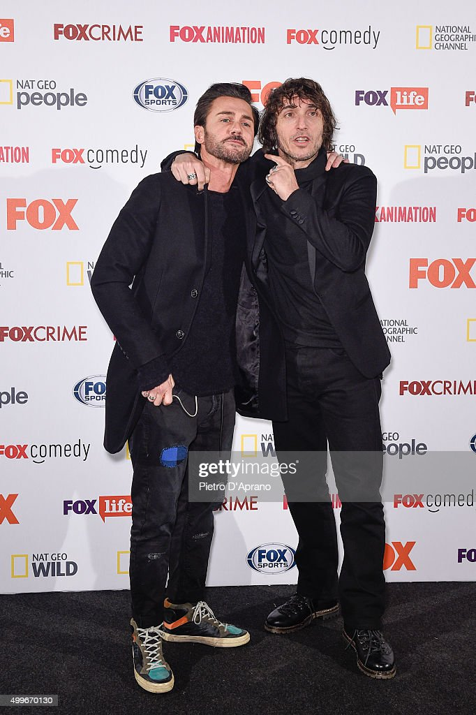 huge discount 7e061 f9611 Tommy V and Giuseppe Cruciani attends the Fox Channels Party ...