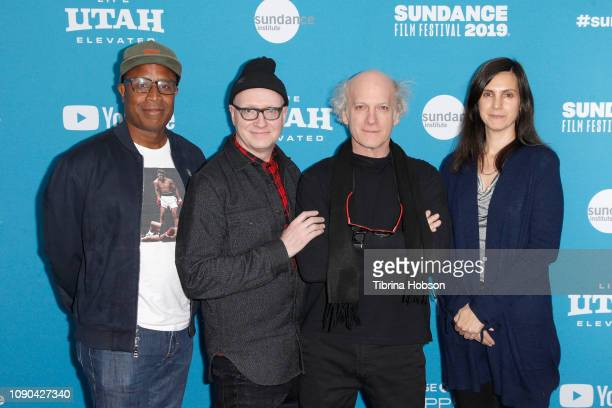 Tommy Walker Chad Thompson Timothy GreenfieldSanders and Johanna Giebelhaus attend the 'Toni Morrison The Pieces I Am' Premiere during the 2019...